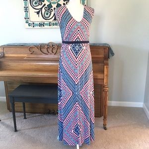 Jessica Simpson Maternity Jersey Maxi Dress